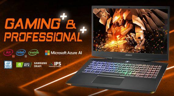 Quick View Para Gigabyte Aorus 15 RTX 20 Series Laptop