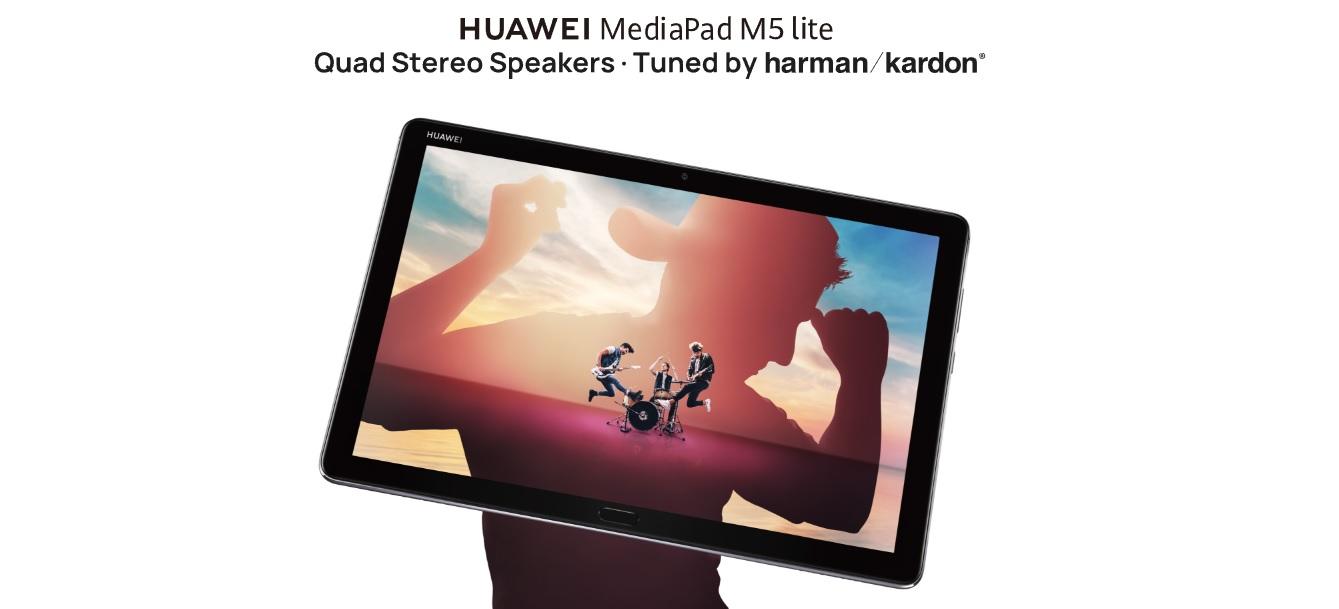 HUAWEI MediaPad M5 Lite é Construído Para Crianças