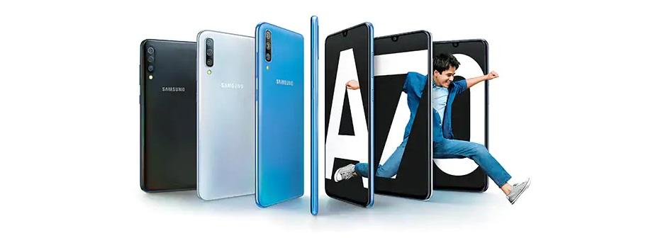 Ainda outro Poderoso Mid-Range Samsung Galaxy A70