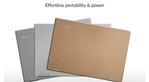 O Lenovo Yoga 720 é Compacto e Portátil sem Esforço