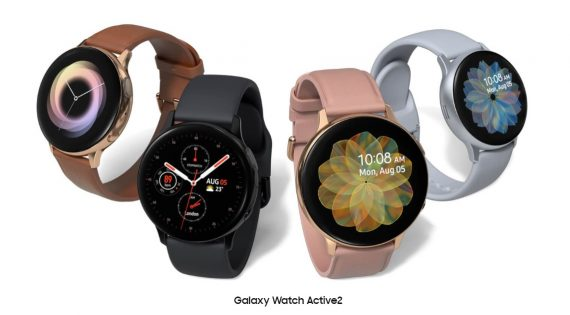 Samsung Galaxy Watch Active 2 é Maior