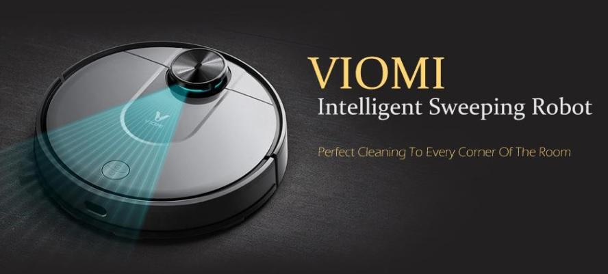 O Mi Viomi Robot Vacuum Pro é o Seu Próximo Dispositivo de Limpeza